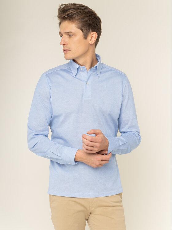 Emanuel Berg Polo marškinėliai H-Basel BD PEB45784 Mėlyna Modern Fit