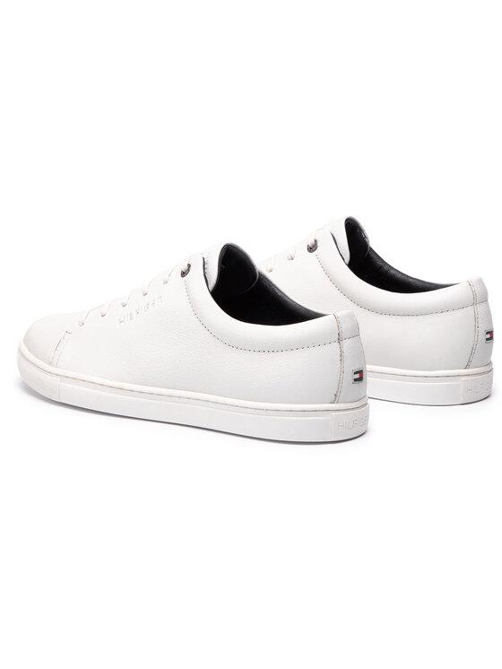 Tommy Hilfiger Tommy Hilfiger Sneakersy Core Dress Leather Cupsole FM0FM02191 Bílá