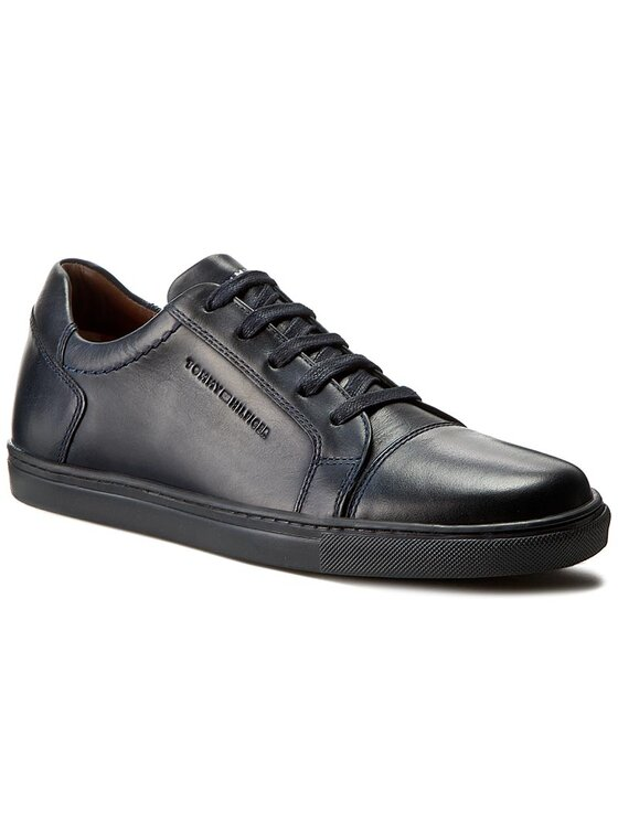 Tommy Hilfiger Tommy Hilfiger Sneakers Charlton 1A FM0FM00616 Bleumarin