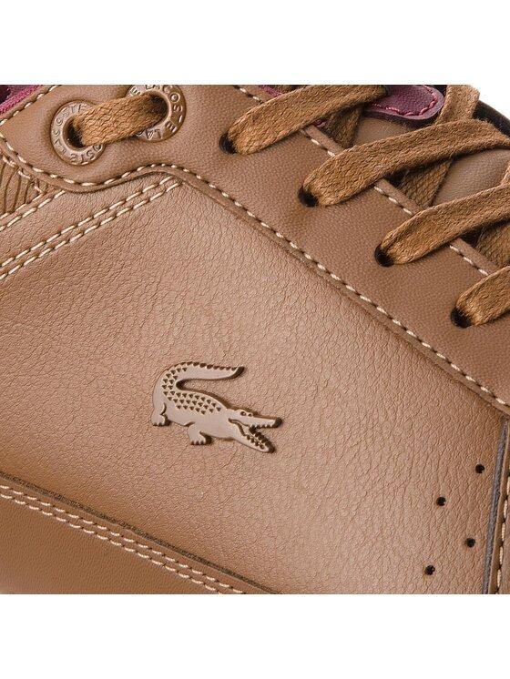 Lacoste Lacoste Sneakersy Evara 318 2 Cam 7-36CAM0024BR1 Brązowy