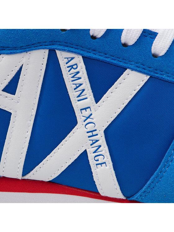Armani Exchange Armani Exchange Sneakersy XUX017 XV028 00984 Niebieski