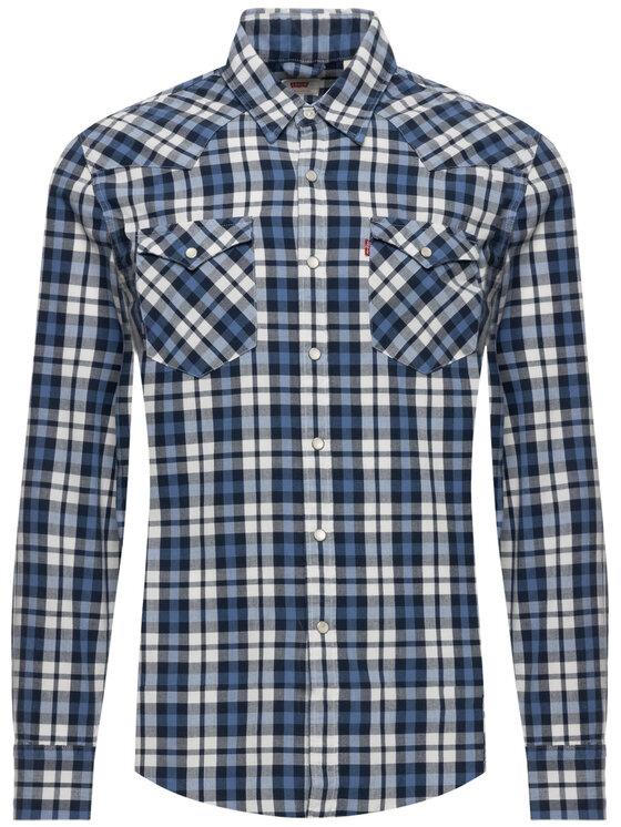 Levi's® Levi's® Chemise Barstow Denim 65816-0331 Bleu marine Slim Fit