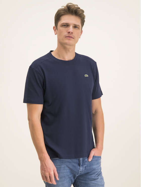 Lacoste Lacoste T-shirt TH7618 Blu scuro Regular Fit
