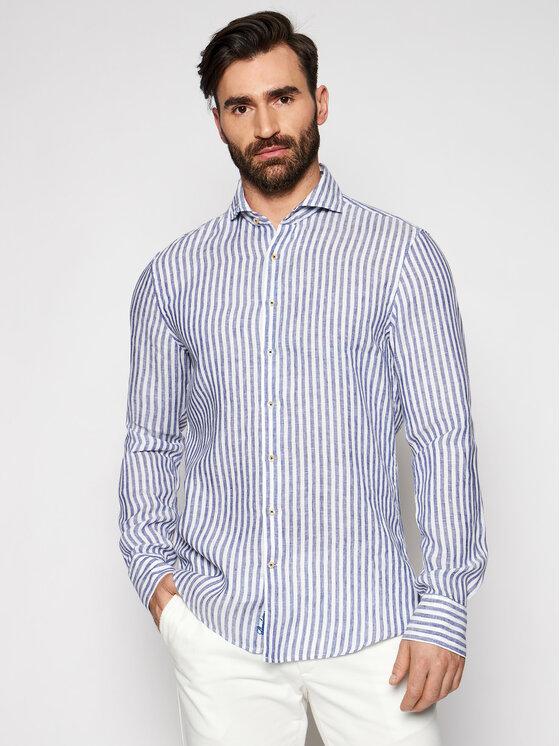 Stenströms Marškiniai 775221 7199 Tamsiai mėlyna Slim Fit