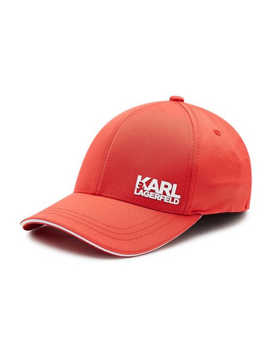 KARL LAGERFELD Czapka z daszkiem 805612 511122 Czerwony