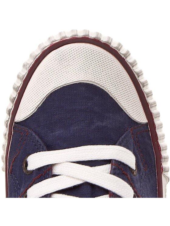 Pepe Jeans Pepe Jeans Scarpe da ginnastica Industry Flag Stitch PLS30160 Blu scuro