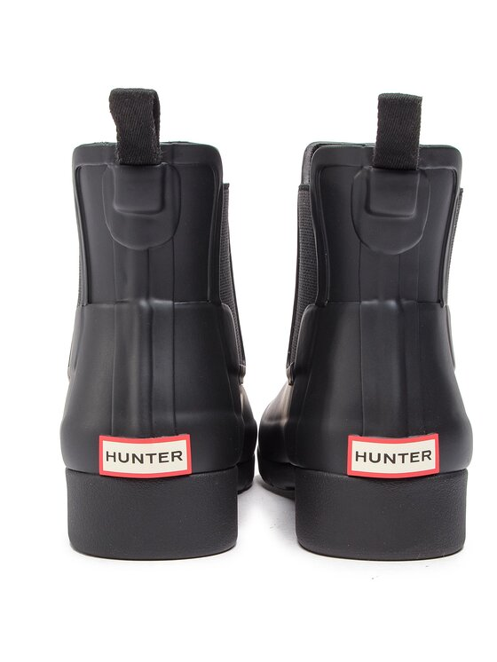 Hunter Hunter Kalosze Org Refined Chelsea WFS1017RMA Czarny