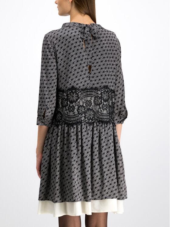 TwinSet TwinSet Ежедневна рокля 192TP258C Черен Regular Fit