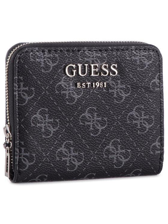 Guess Guess Kis női pénztárca Logo Rock (SG) Slg SWSG74 09370 Fekete