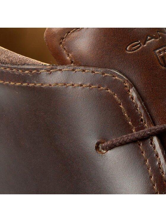 Gant Gant Šnurovacia obuv Bari 13641317 Hnedá