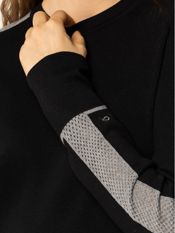 Calvin Klein Calvin Klein Robe en tricot K20K201726 Noir Regular Fit