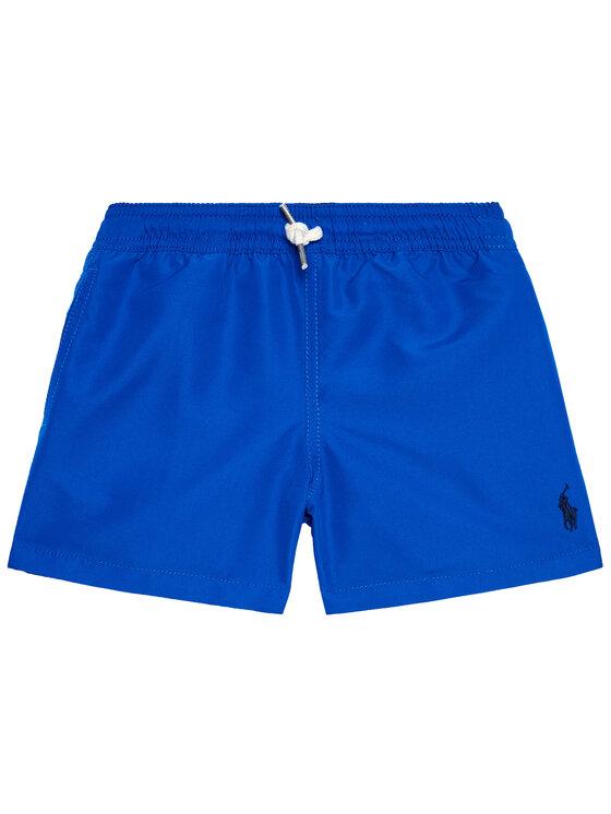 Polo Ralph Lauren Polo Ralph Lauren Szorty kąpielowe Traveler 323785582009 Granatowy Regular Fit