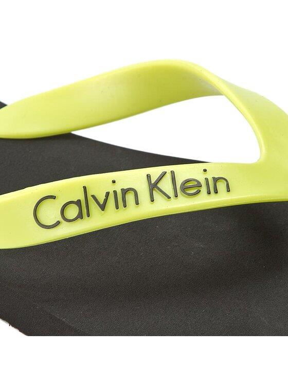 Calvin Klein Calvin Klein Šlepetės per pirštą Mini Ck Flip Flop K9MC084043 Juoda