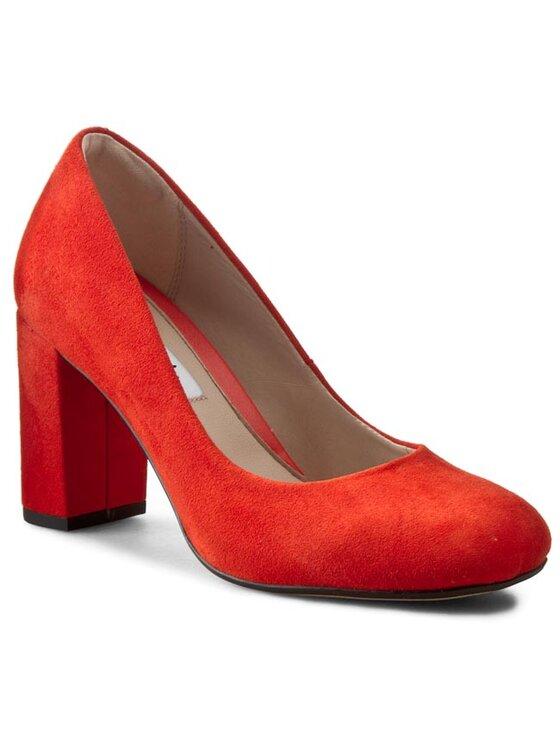 Clarks Clarks Pantofi Gabriel Mist 261110304 Roșu