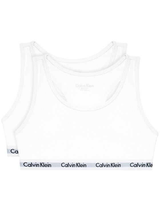Calvin Klein Underwear Calvin Klein Underwear Komplet 2 biustonoszy G80G800437 Biały