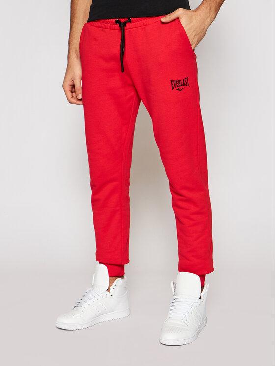 EVERLAST Sportinės kelnės 789610-60 Raudona Regular Fit