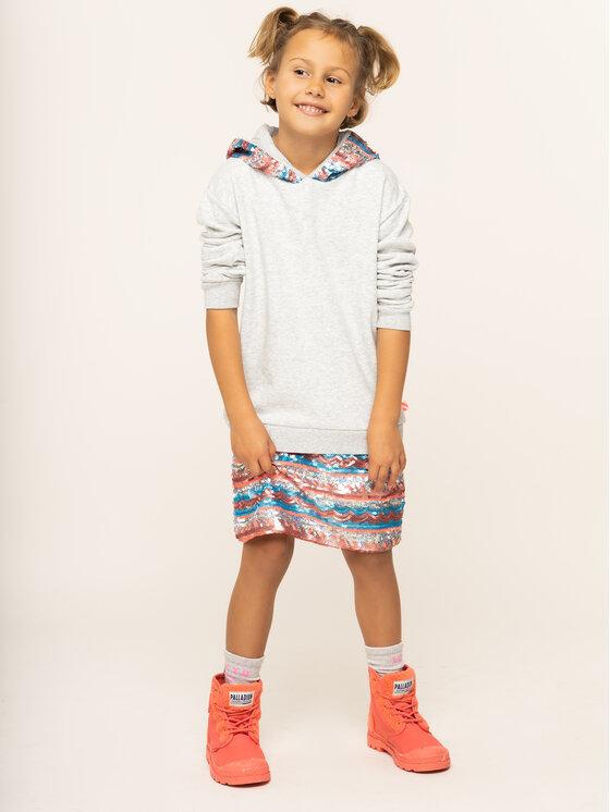 Billieblush Billieblush Každodenní šaty U12516 Šedá Regular Fit