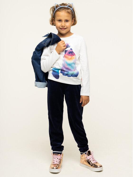 Billieblush Billieblush Bluzka U15685 Biały Regular Fit