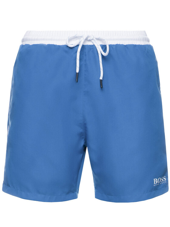 Boss Boss Szorty kąpielowe Starfish 50408104 Niebieski Regular Fit