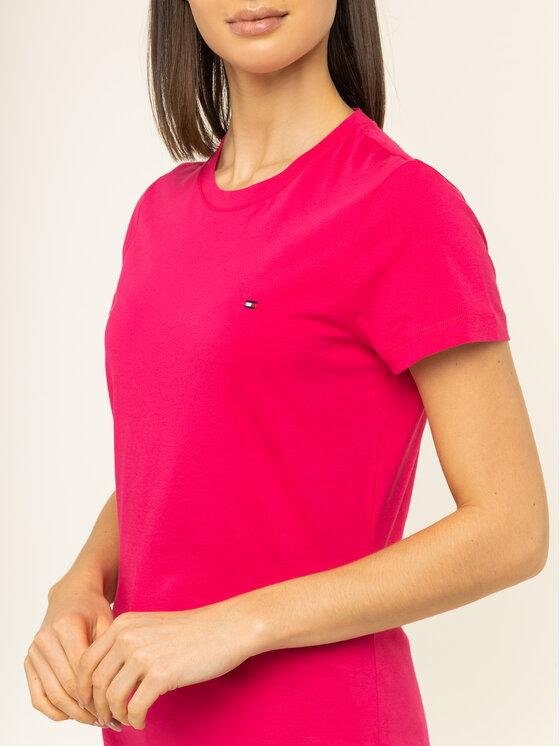 Tommy Hilfiger Tommy Hilfiger T-shirt New WW0WW27735 Rosa Regular Fit