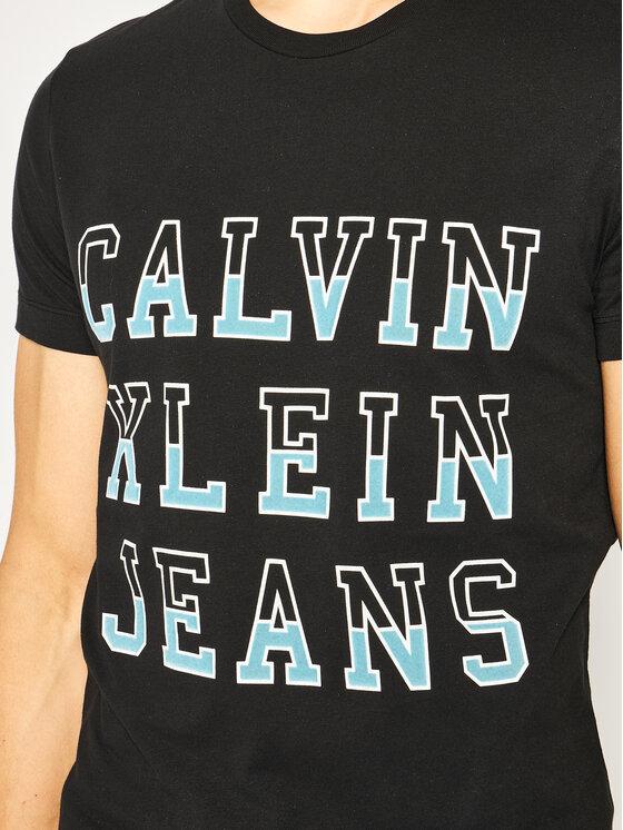 Calvin Klein Jeans Calvin Klein Jeans T-Shirt J30J312570 Černá Regular Fit
