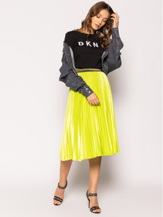DKNY DKNY Tricou W3276CNA Negru Regular Fit