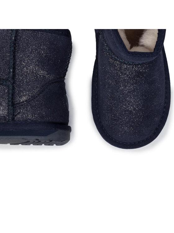 EMU Australia EMU Australia Обувки Wallaby Mini Metallic K11856 Тъмносин