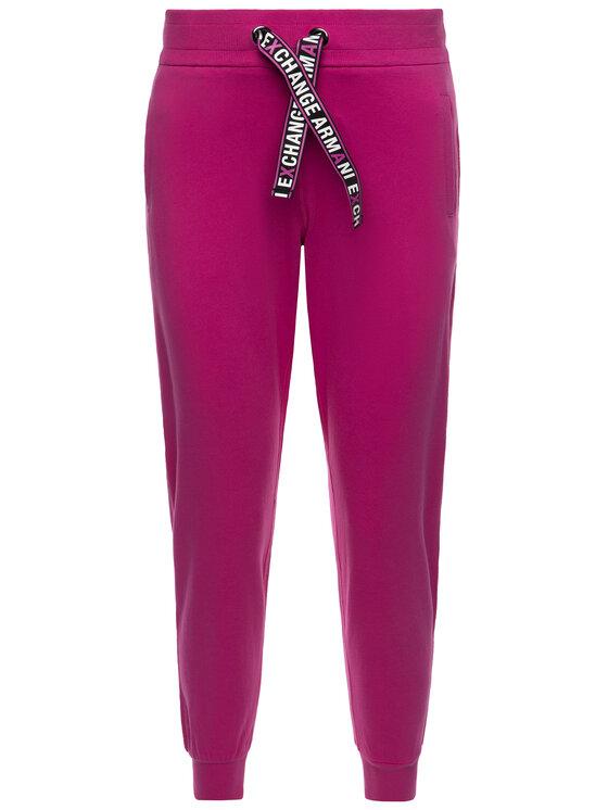 Armani Exchange Armani Exchange Teplákové nohavice 3HYP88 YJ76Z 1474 Ružová Regular Fit