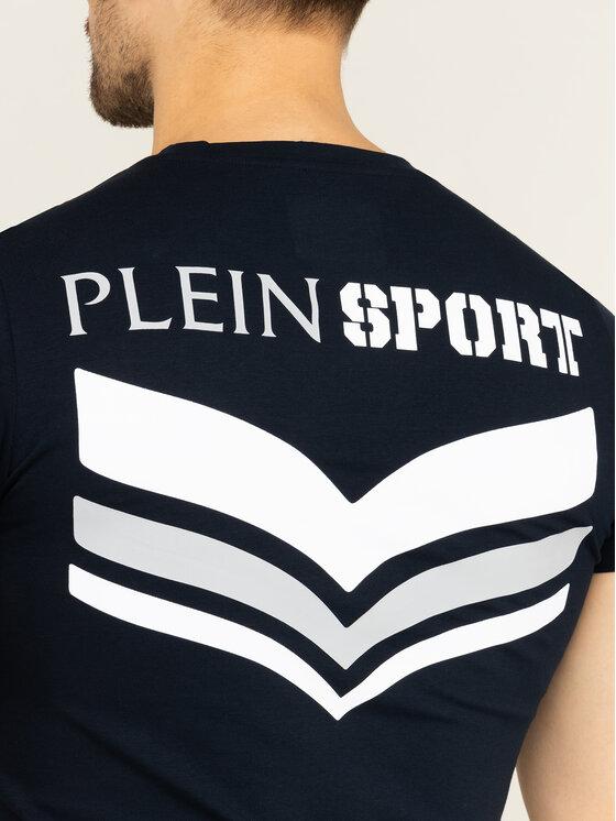 Plein Sport Plein Sport Tricou A19C MTK3997 SJY001N Bleumarin Regular Fit