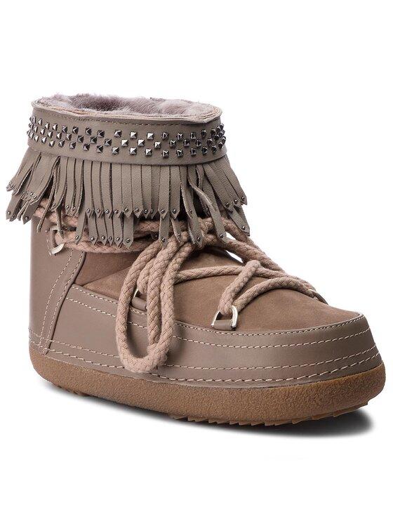 Inuikii Inuikii Обувки Boot Fringes 70101-31 Бежов