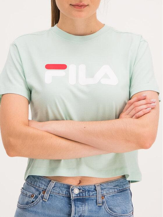 Fila Fila T-Shirt Viivika 687212 Zelená Regular Fit