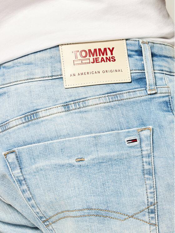 Tommy Jeans Tommy Jeans Jeansshorts Scanton DM0DM07968 Blau Slim Fit