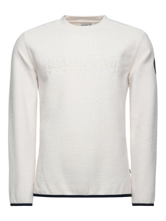Napapijri Napapijri Μπλούζα Tame N0YHX9 Λευκό Regular Fit