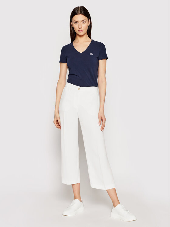 Lacoste Lacoste Tricou TF0999 Bleumarin Regular Fit