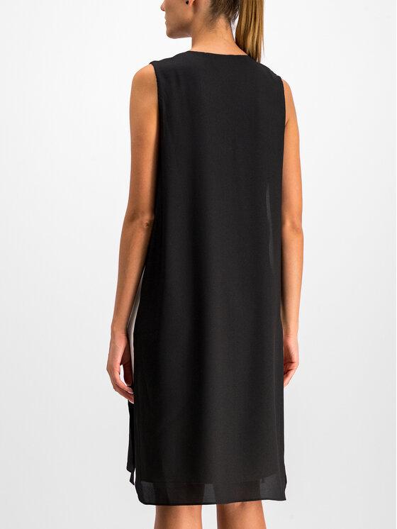DKNY DKNY Коктейлна рокля P9EB6B5M Черен Regular Fit
