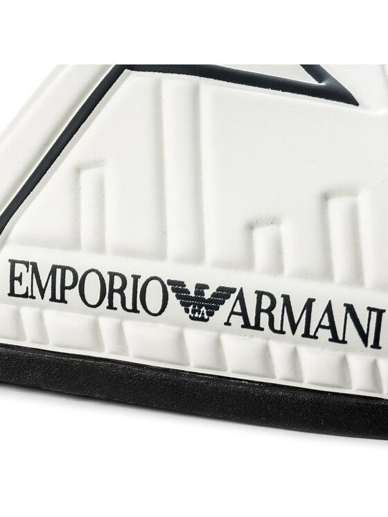 Emporio Armani Emporio Armani Klapki X4P076 XL272 A038 Biały
