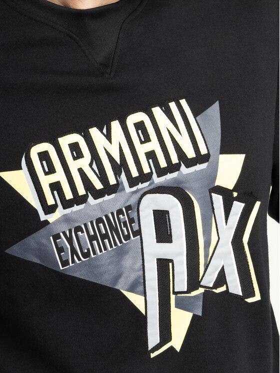 Armani Exchange Armani Exchange Bluza 3HZMAJ ZJ4FZ 1200 Czarny Regular Fit