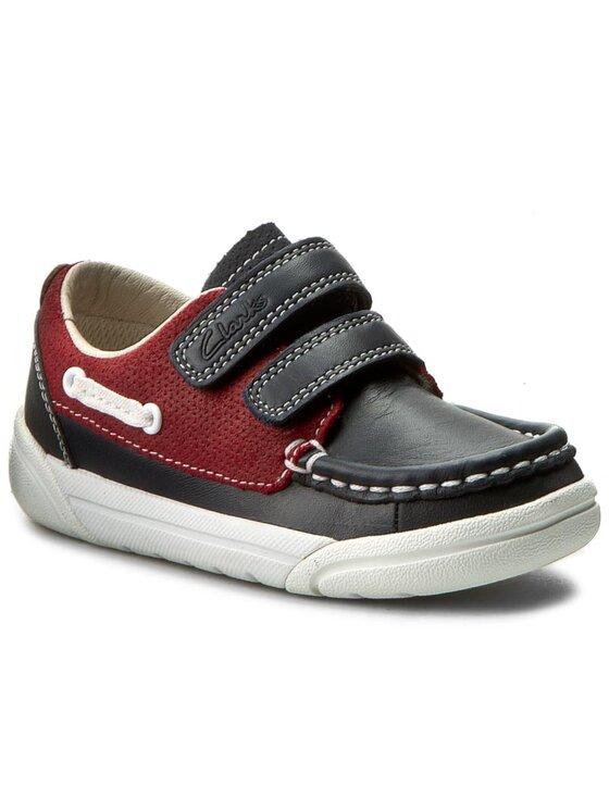 Clarks Clarks Chaussures basses Lilfolkfun Inf 261239356 Bleu marine