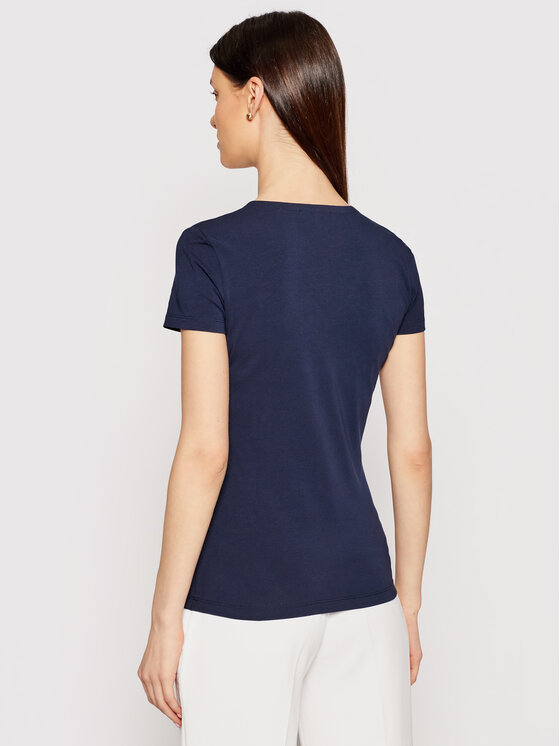 Lacoste Lacoste T-Shirt TF0999 Σκούρο μπλε Regular Fit