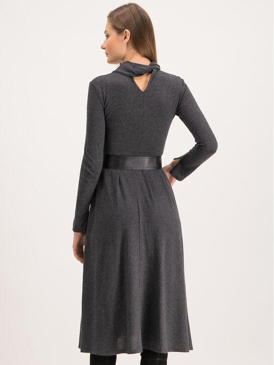 MAX&Co. MAX&Co. Плетена рокля Drenare 66249119 Сив Regular Fit