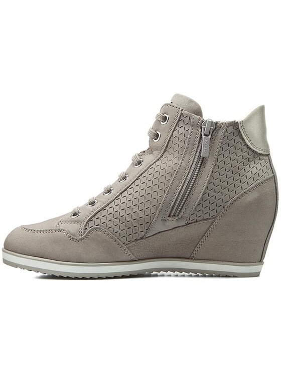 Geox Geox Sneakersy D Illusion A D6254A 000LT C1010 Sivá