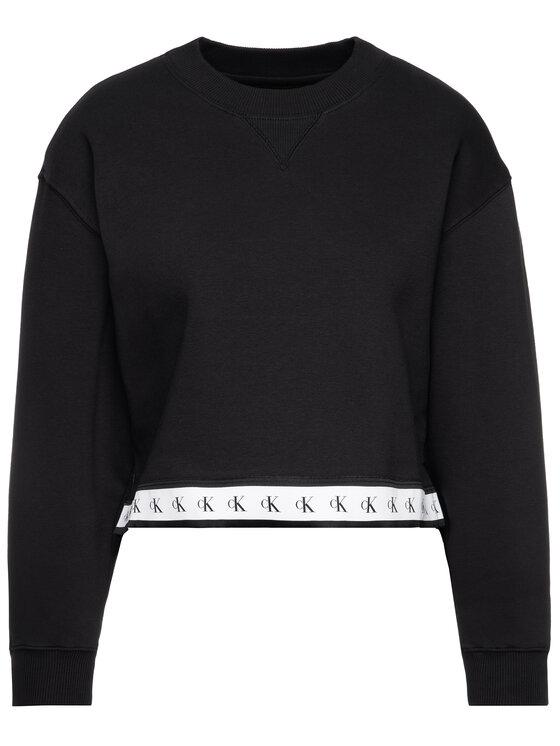 Calvin Klein Jeans Calvin Klein Jeans Felpa Monogram J20J212598 Nero Regular Fit