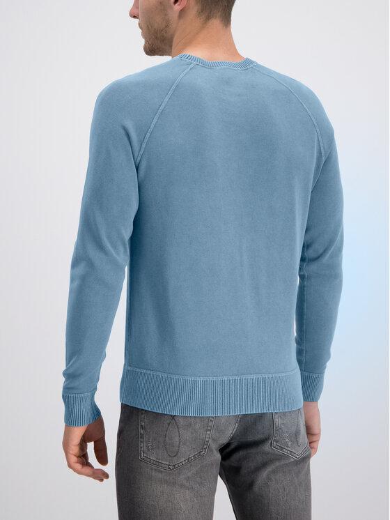 Calvin Klein Calvin Klein Mikina K10K103923 Modrá Regular Fit