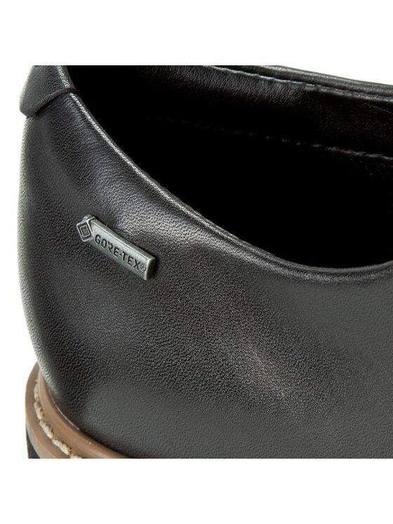 Clarks Clarks Oxford cipők Glickdarby Gtx 261204254 Fekete
