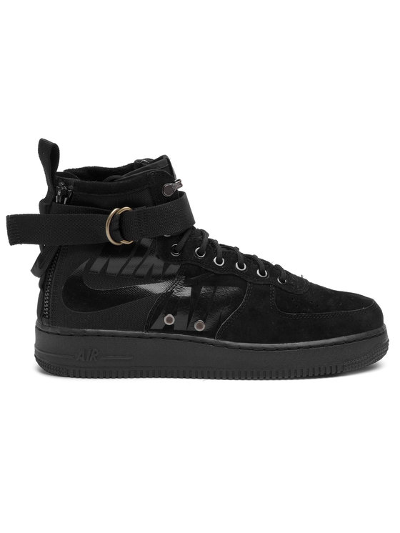 Nike Nike Batai Sf Af1 Mid 917753 008 Juoda