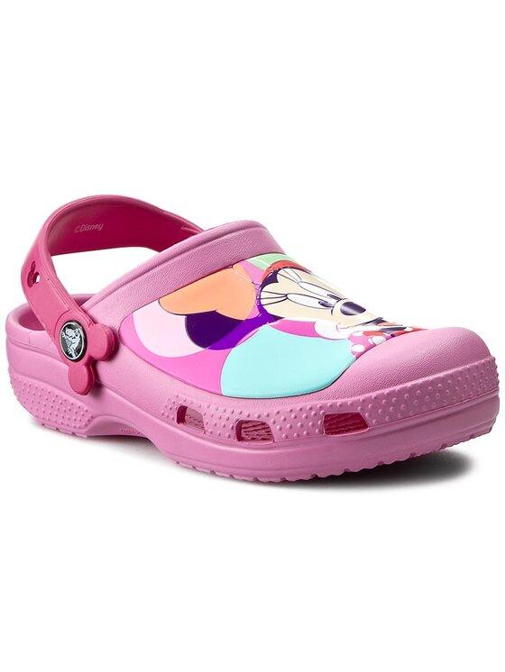 Crocs Crocs Παντόφλες Cc Minnie Colorblock Clog K 202693 Ροζ