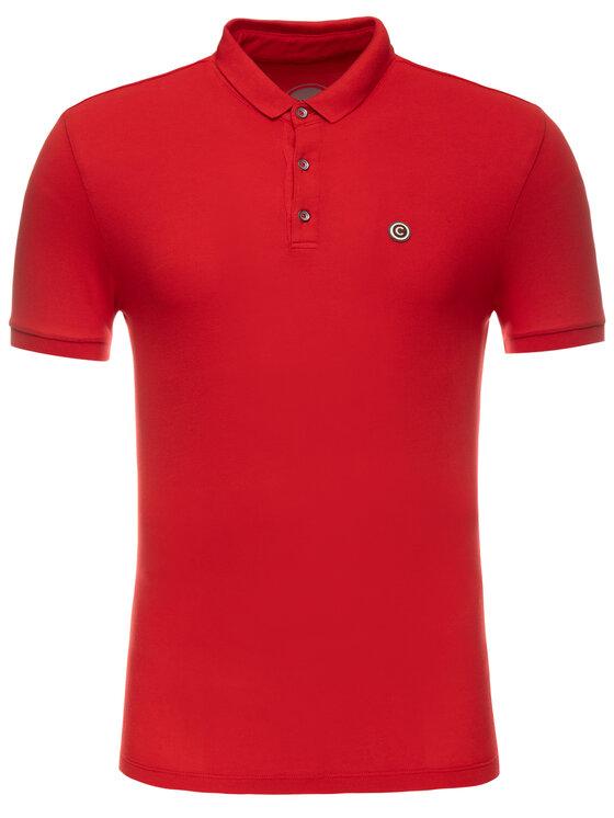 Colmar Colmar Тениска с яка и копчета Common 7617T 5TN Червен Regular Fit