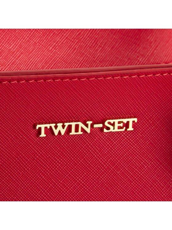 TwinSet TwinSet Borsa Bauletto Taglio VI AA67P3 Rosso