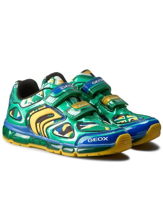 Geox Geox Обувки J Android B. A J6244A 014CE C3Q0G D Зелен
