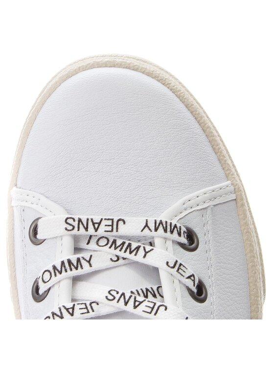 Tommy Jeans Tommy Jeans Sneakers Light Leather Mid EN0EN00231 Blanc